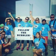 Big Bubble Run Dubai 2016 PRO Partner Group