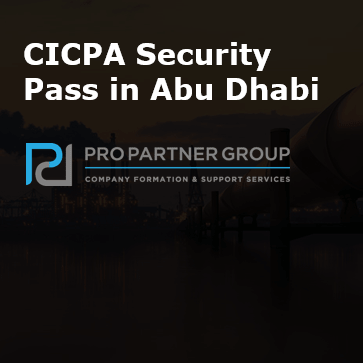 Does my company need a CICPA security pass to work in Abu Dhabi CICPA Pass Abu Dhabi