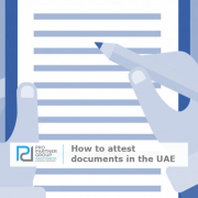How to attest a legal document in Dubai Abu Dhabi UAE