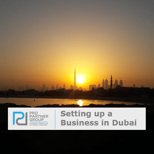 Company formation in Dubai setting up a business in Dubai