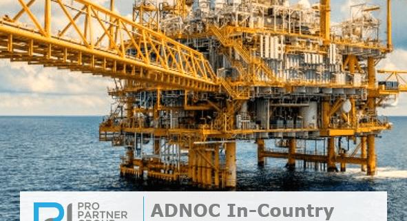 ADNOC In-Country Value (ICV) Program Abu Dhabi