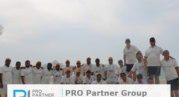 PRO Partner Group Annual Cricket Match 2018 Abu Dhabi