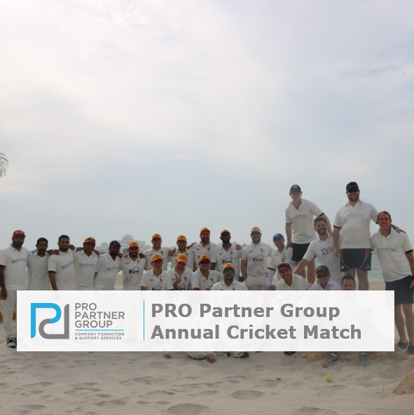 PRO Partner Group Annual Cricket Match 2018 Abu Dhabi