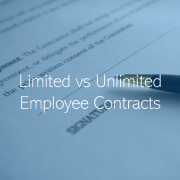 Limited and Unlimited UAE Employment Contracts